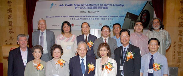 The 1st Asia-Pacific Regional Conference on Service Learning: Theory and Practice of Service-Learning: Cross-Cultural Service-Learning Programme in Asia-Pacific Region