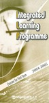 Integrated learning programme 2004-2005 : course for first term