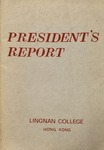 Lingnan College Hong Kong : President's report 1983-1984