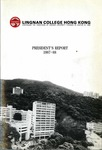 Lingnan College Hong Kong : President's report 1987-1988