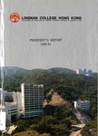Lingnan College Hong Kong : President's report 1990-1991