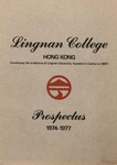 Lingnan College Hong Kong : prospectus 1974-1977 by Lingnan College
