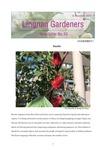 Lingnan Gardeners Newsletter (No. 40) = 嶺南彩園通訊 (第40期) by Lingnan Gardeners, Kwan Fong Cultural Research and Development Programme, Lingnan University