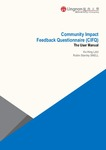 Community impact feedback questionnaire (CIFQ) : the user manual