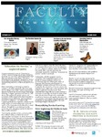 Faculty newsletter (2nd issue)