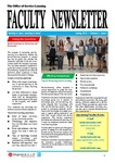 Faculty newsletter (Vol. 2, Iss. 2)