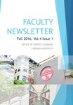 Faculty newsletter (Vol. 4, Iss. 1) by Office of Service-Learning, Lingnan University