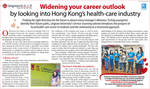 Widening your career outlook by looking into Hong Kong's health-care industry by Office of Service-Learning, Lingnan University