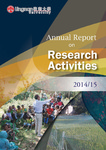 Annual report on research activities 2014/15 by Lingnan University (Hong Kong, China)