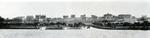 屹立于珠江边上的岭南大学全景