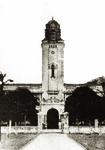 中山大学早期文明路校园的钟楼