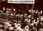 广东各界欢送粤桂闽北上抗日将士大会并赠旗典礼