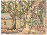 岭南大学在粤北曲江县仙人庙的格兰堂绘图
