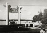中山大学迁入康乐园后的北门牌坊