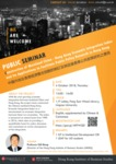 Construction of Mainland China : Hong Kong economic integration index and its applications to facilitate public policy research in Hong Kong